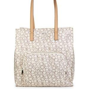 Calvin Klein Tanya Nylon Tote Bag